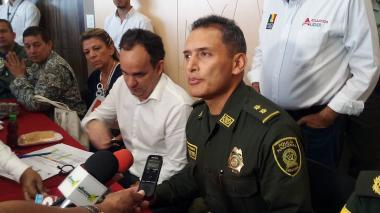 """""""Nosotros no hemos bajado la guardia"""": comandante de Policía"""