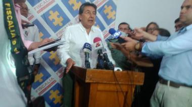 El fiscal general de la Nación, Néstor Humberto Martínez, en Montería.