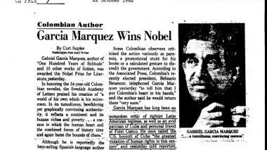 La forma en que la CIA le seguía los pasos a Gabo