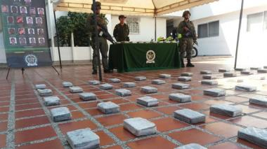 Decomisan 458 kilos de cocaína en una bodega en Barranquillita