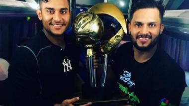Dónovan y Jonathan Solano se coronan campeones con los Tigres de Licey
