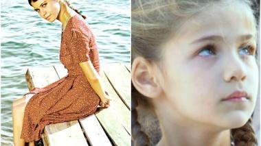 Aviso promocional de la telenovela turca '¿Qué culpa tiene Fatmagül?' (i). La protagonista de la telenovela turca 'Elif' (d).