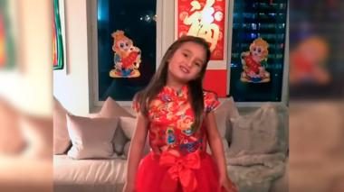 En video | La nieta de Trump se vuelve viral en China tras cantar canción en mandarín