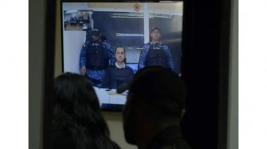 Uribe Noguera en videoconferencia desde La Picota.