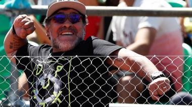 "Maradona dice que Sampaoli es ""el técnico del momento"""