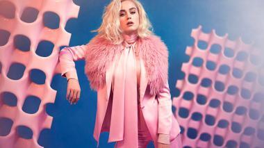 "Katy Perry sorprende con un anticipo de su cuarto disco con ""Chained to the rhythm"""