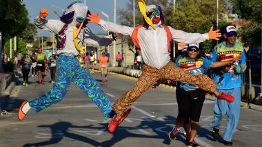 Las marimondas se vacilaron el 'Corre Corre'