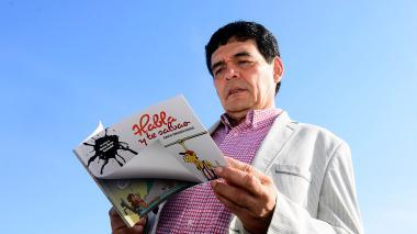 Ignacio Consuegra Bolívar, vicerrector de Infraestructura de la Universidad Simón Bolívar y caricaturista barranquillero.