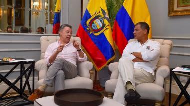 """""""El tema de Odebrecht se estaría usando con fines políticos"""": Rafael Correa"""