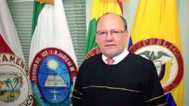 Vicente De Santis Caballero, magistrado de la sala laboral del Tribunal Superior de Barranquilla.