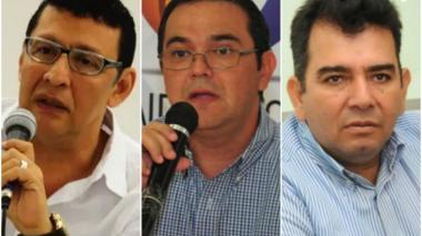 De izquierda a derecha: Horacio Brieva, Héctor Carbonell y Orlando Jiménez.