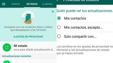 Las historias, la nueva herramienta de Whatsapp