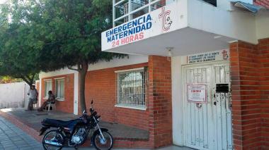 Fachada de la clínica centro San Camilo de Barranquilla.