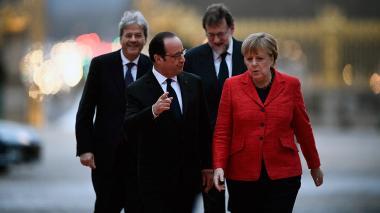 Los '4 grandes' de la UE abogan por una Europa de integración