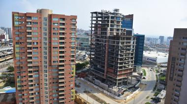 La construcción en Barranquilla creció 111% en enero