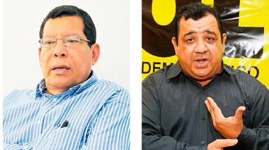 Juvenal Pérez y Luis Escorcia disputan la presidencia del partido de izquierda en el Atlántico.