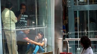 Rescatan a personas que quedaron atrapadas en ascensor de centro comercial en Barranquilla