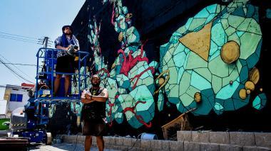 Los titanes del color (Reunión en Barranquilla)