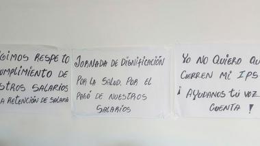 Reportan cese de actividades en IPS Costa Atlántica de Soledad