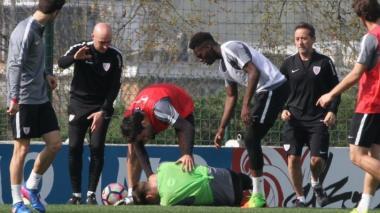 Arquero del Athletic de Bilbao, hospitalizado tras sufrir un balonazo