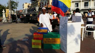 Con concierto, en Cartagena recogen donaciones para zona veredal de Pondores