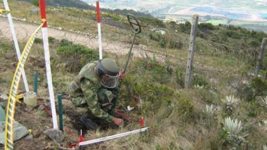 Desde 2005 se han destruido 3.422 minas antipersonal