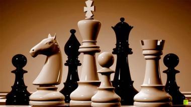 Fichas de ajedrez.