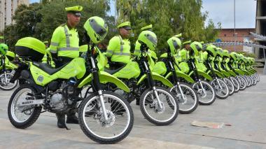 Con 95 motocicletas, alcalde Char refuerza a la Policía Metropolitana