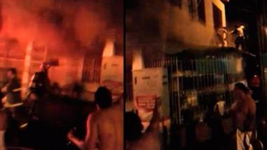 'Cobradiario' amenaza y quema casa de clienta por deuda