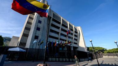 Sede del Tribunal Supremo de Justicia, en Caracas.