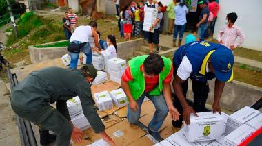 Gobierno envió 40 toneladas de ayuda humanitaria a Mocoa