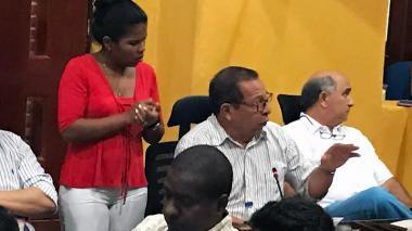 Sesión del Concejo de Cartagena.