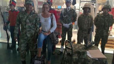 La Primera División del Ejército conmemora el Día internacional contra las minas antipersona