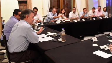 """""""Vamos a conseguir un operador que haga las inversiones"""": Santos sobre Electricaribe"""