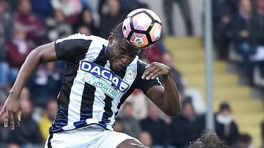 Duván Zapata aporta un gol en victoria de Udinese