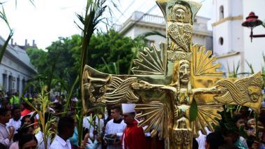 En imágenes | La Región Caribe abre la Semana Santa con el Domingo de Ramos