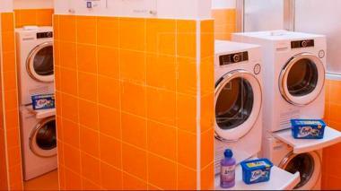Los electrodomésticos fueron donados por una marca de electrodomésticos.