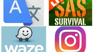 Logos de algunas 'apps'.