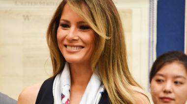 Melania Trump, primera dama de Estados Unidos.