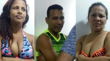 Capturan en Pradomar a dos mujeres y un hombre por robo a almacén de cadena