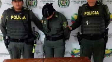 Claudia Blanco Contreras fue llevada a la URI.