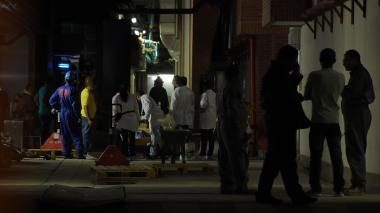 Bomberos de Barranquilla atendieron emergencia por fuga de ácido en Vía 40