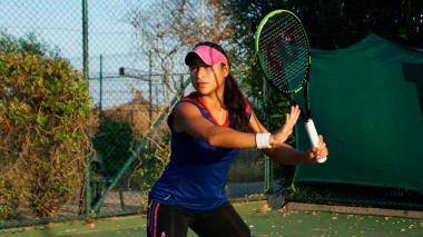 María Fernanda Herazo venció en semifinales a la paraguaya Camila Giangreco.