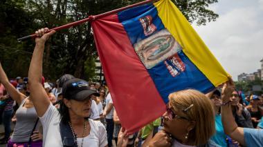"""Comienza """"plantón"""" en varias ciudades venezolanas"""