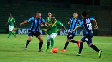 Deportes Quindío derrotó 1-0 al Real Santander