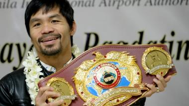 """""""Todavía no estoy acabado en el boxeo"""": Manny Pacquiao"""