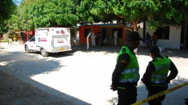 Vivienda en el municipio de Juan de Acosta donde fue asesinada una adolescente de 15 años por su pareja, en febrero pasado.