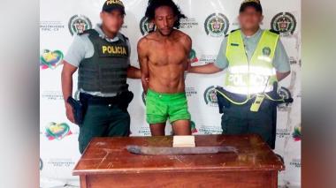 Víctor, el 'rasta' que intentó machetear al padre de Villa Carolina