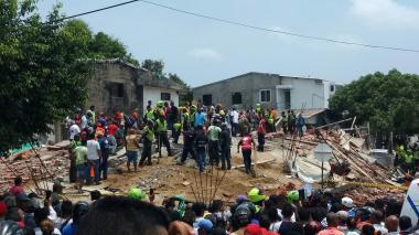 En video | Cuatro muertos y 19 heridos tras desplome de edificio en construcción en Cartagena