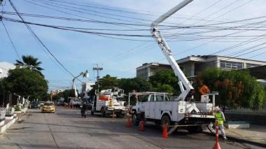 Este martes suspenden energía en varios sectores de Barranquilla y municipios